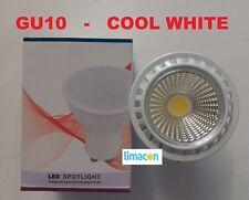 10 PACK OF GU10 LED SPOTLIGHT BULBS COOL WHITE 5W 345 LUMEN A+ ENERGY EFFICIENT