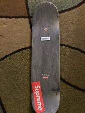 SUPREME SS20 CHROME LOGO SKATEBOARD DECK BLACK (8×31.875)