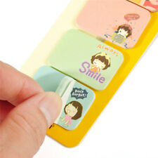 Mini Small Notepad Memo Sticky Removable 4 In 1 Paper Stationery Pads Notes