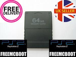 Playstation 2 PS2 Free McBoot FMCB 64MB Memory Card 1.966