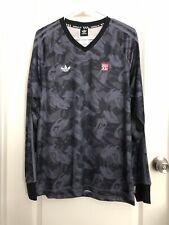 Adidas Originals Mhak L/S Goalie Jersey Camo Shirt Cf0735 Medium