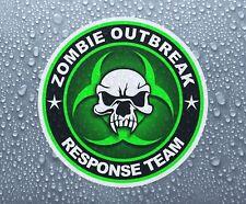 Zombie Outbreak sticker Biohazard #8 printed full colour self-adhesive car bike