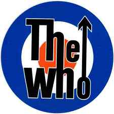 The Who full colour  SCOOTER CAR CAMPER WINDOW BUMPER LAPTOP STICKER DECAL