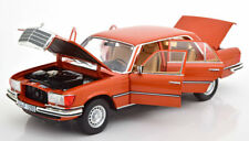 Norev 1976 Mercedes Benz 450 Sel 6.9 W116 Dark Red 1/18 Scale New! In Stock!