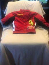Disney Cars Lightning McQueen Toddler Boys Jacket Button Zipper Size 2T Toddler