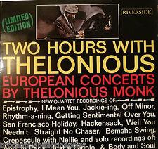 VINYL THELONIOUS MONK TWO HOURS VITH THELONIOUS 2LP 68922 PRIX LIVRE