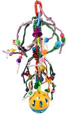 New listing 1540 Super Bizzy Ball Bird Toy parrot cage toys african grey conure amazon macaw