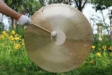 32inch/80cm wind gong with mallet Beautiful face & excellent sound