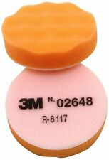 "3M 02648 Finesse-it Buffing Pad Hook-and-Loop, 3-1/4"" Diameter, Orange Foam 10pk"