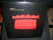 INTERPOL **TURN ON THE BRIGHT LIGHTS **BRAND NEW RECORD LP VINYL