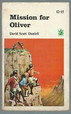 Mission For Oliver David Scott Daniell Dragon Paperback 1968 Good Condition
