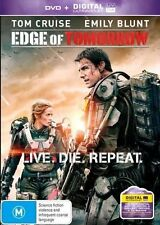 Edge of Tomorrow 2014 Tom Cruise DVD R4 - Includes UV Code