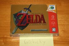 Legend of Zelda: Ocarina of Time Collector's Edition (N64) NEW SEALED V-SEAM NM!