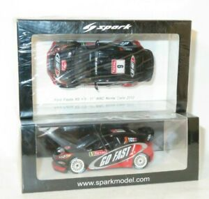 1/43 Ford Fiesta RS WRC  Go Fast  Rally Monte Carlo 2012 #9 M.Wilson / S.Martin