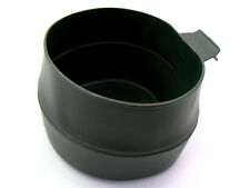 """Wildo / Proforce SWEDISH large OD Green """"Fold-A-Cup"""" collapsible drinking cup"""