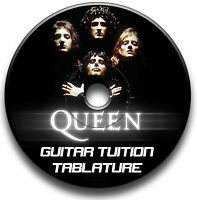 QUEEN HEAVY ROCK GUITAR TABS TABLATURE SONG BOOK ANTHOLOGY SOFTWARE CD LIBRARY