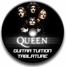 QUEEN HEAVY ROCK GUITAR TAB TABLATURE SONG BOOK ANTHOLOGY SOFTWARE CD LIBRARY