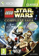 LEGO Star Wars: The Complete Saga (Xbox 360) NEW unsealed ***