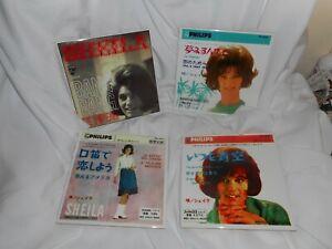 Sheila lot 4 Véritables carrelages 20 x 20 cm
