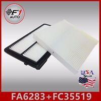 FA6283 FC35519 PREMIUM ENGINE & CABIN AIR FILTER for 13-17 ACCORD & 15-17 TLX V6