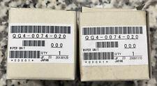Pitney Bowes Pb Blue Crest Qg4-0074 (Qty-2) Wiper Blade Assy Free Shipping!