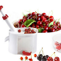 Durable Cherry Olive Pitter Stone Seed Remover Machine Corer Container Kitchen