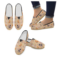 Scooby Doo Unusual Loafers Slip-on Canvas Comfy Flats Casual Shoes for Women