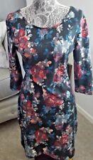 American Rag 1629 Womens Black Floral Print Mini Casual Dress Juniors S BHFO