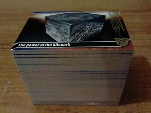 TRANSFORMERS Movie Complete 150 Collectors Edition Set TOPPS 2014