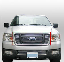 FORD 2004-2008 F-150 TRUCK FRONT TOP MAIN UPPER BILLET GRILLE 6PCS GRILL INSERT
