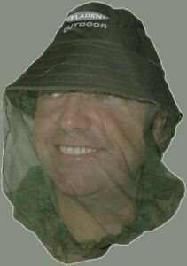 MOSQUITO HEAD NET Hat PROTECTIVE HEAD WEAR Midge  INSECT Mesh lightweight wasp