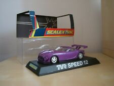 SCALEXTRIC C2194  NOS TVR SPEED 12 'PURPLE' ROAD CAR - MINT BOXED CONDITION