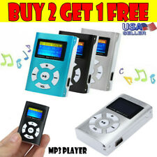 USB LCD HD Screen MP3 Player Music Player Support 32GB Micro SD TF Card US R0
