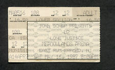 U2 1987 Joshua Tree Tour Concert Ticket Stub Meadowlands NJ With Or Without You