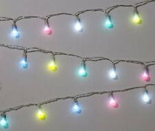 Pastel fairy lights, party decorations, garden lights, garden tea party lights,
