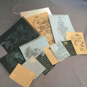12pcs vintage ephemera junk journal stickers paper scrapbooking planner diary