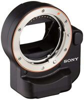 Sony LA-EA4 Adapter Attach A-mount Lenses to E-mount Camera?EMS w/ Tracking NEW