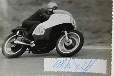 27510 carreras de motos foto con autógrafo michelle Duff Canada 1962 photo Bike