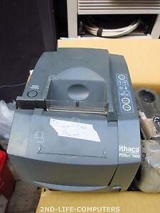 Ithaca POS 1500 POSjet 2-Color Ink-Jet Receipt Printer PJ1500-2-S DOESN'T PRINT