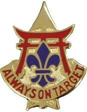 0030 Air Defense Artillery Brigade Unit Crest (Always On Target)