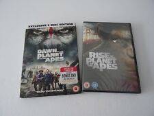 Dawn & Rise Of The Planet Of The Apes (Films 1 & 2) Brand New Factory Sealed