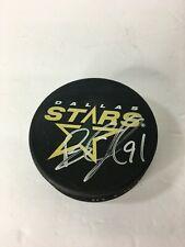 Brad Richards Signed Dallas Stars Puck Autographed