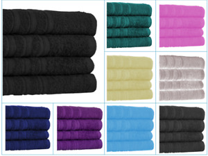 4x Big Jumbo Bath Sheets 100% Pure Cotton Large Size Bathroom Towels Soft Luxury