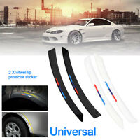 2X Replacement Car Sticker Stripe Fender Flare Wheel Eyebrow Arch Trim Spares