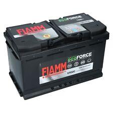 Fiamm 12V 80Ah 800A AGM Autobatterie Start Stopp EcoForce Starterbatterie