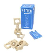 Staka Wooden Stacking Game Asmodee & Helvetiq ASMHL7003 Family Dexterity Balance