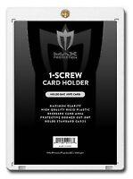 Case 200 Max Pro 1-Screw 20pt Regular Trading Baseball Card Holders Screwdowns