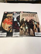 The new warriors Comic lot 1-3 2007
