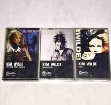 Kim Wilde 1984-1988 Taiwan OBI Cassette Tape x 3 / with Promo Insert ( not CD )