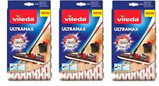 3x VILEDA ULTRAMAX ULTRAMAT 1-2 Spray Ersatzbezug NEU&OVP !!!